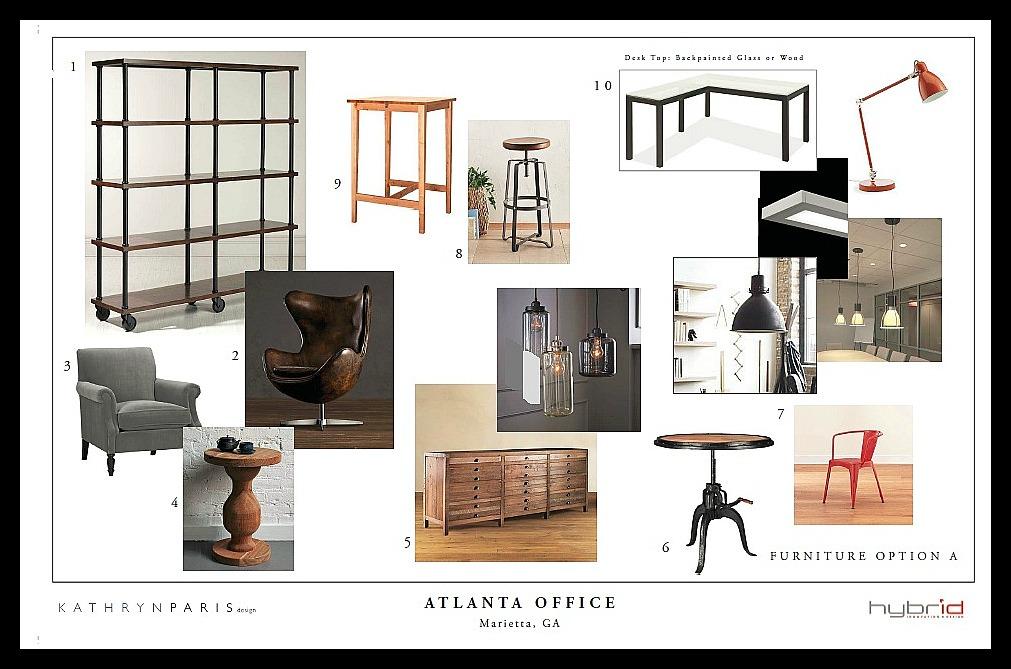 Hybrid design making progress kathryn paris design for Less expensive furniture